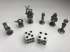 Monopoly Family Guy Edition Game Tokens Movers Die Set of 8