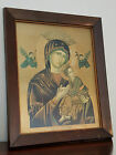 Vintage Russian Icon Religious Picture