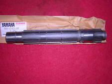 Yamaha TZ750 Sprocket Shaft. Genuine Yamaha. New ,(b19b)