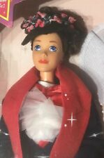 1993 Walt Disney Exclusive Mary Poppins Barbie doll NRFB Steffie face