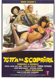 TUTTA DA SCOPRIRE con Nadia Cassini -DVD ITA :regalo con acq.cartolina-SPED.FREE