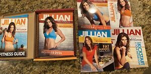 Jillian Michaels: Body Revolution (DVD, 2012, 15-Disc Set) Guides & Meal Plan