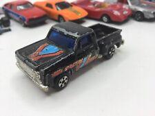 Vintage Unbranded Black Chevrolet C10 Pickup Truck Parts Restore 1:64 Hong Kong