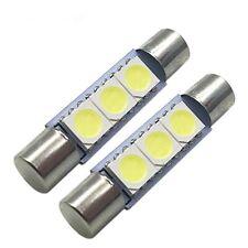Light 2pcs LED Ampoules Intérieures Blanches De Voiture Plaque D'immatriculation