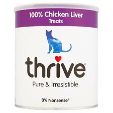 thrive Cat 100% Chicken Liver Treat MaxiTube 200g Real Natural Freeze Dried Meat