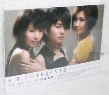 S.H.E SHE Forever New + Best Selection Taiwan Ltd CD+DVD+32P booklet (digipak)