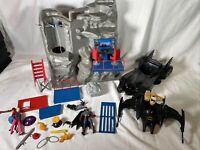 Vintage 1989 Batman Batcave Master Playset Toybiz