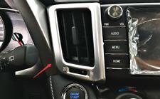 For Toyota RAV4 2013-2018 2 PCS Car ABS Chrome Console Airt Vent Cover Trim