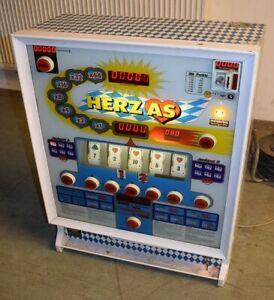 ADP Bayern Herz Ass Sonderedition Pokerautomat/ Punktespieler-selten!