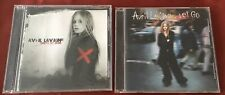 2 CDs AVRIL LAVIGNE Under My Skin & Let Go Arista Records