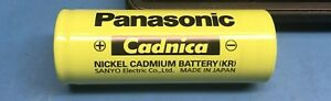 Panasonic 1pc KR-FH 1.2 Volt battery F cell Cadnica NiCd 7000 mAh hi temperature