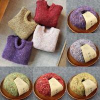 50g/ball Yarn Crochet Wool Cashmere Velvet Yarn Needlecrafts Alpaca DIY Thread