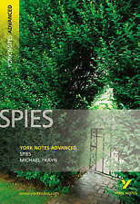 Spies: York Notes Advanced by Michael Frayn (Paperback, 2007)