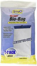 TETRA BIO BAG WHISPER LARGE CARTRIDGE 1 PACK FOR POWER FILTER 30 40 60 20i 40i