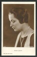 Alice Joyce - cartolina d'epoca