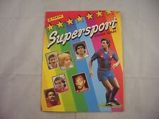 Panini Supersport  sticker album Empty