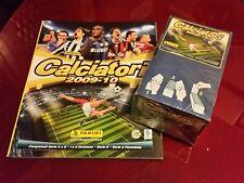 CALCIATORI 2009/2010 09/10: ALBUM VUOTO + BOX 100 BUSTINE PANINI DA EDICOLA