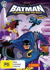 Batman the Brave and the Bold: Season 1 - Volume 4 (Animated) NEW R4 DVD