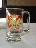 VINTAGE 1933-1983 PINE GROVE FIRE DEPT ROTTERDAM NY STATE CONVENTION GLASS  MUG