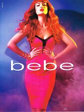PUBLICITE ADVERTISING  2010   BEBE  haute couture 1