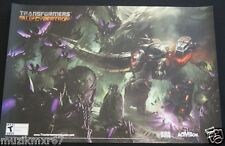 SDCC Comic Con 2012 EXCLUSIVE Transformers DINOBOT Fall of Cyberton poster RARE!