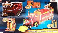 Power Rangers Dino Thunder Triceramax Command Center Truck Mesagog Space Alien