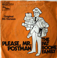 "7"" 1974 ! PAT BOONE FAMILY : Please Mr. Postman / VG+"