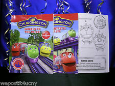 Chuggington Coloring Books Set of 2 Traintastic Wheels ..1 Koko Diecast Train