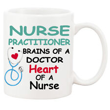 Nurse Practitioner / White Ceramic 11oz Mug / Add A Name On The Other Side