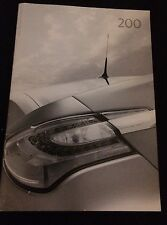 Chrysler 200 2012 Brochure S & Touring
