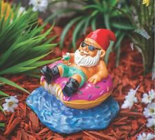 BigMouth® Donut Worry Be Happy Garden Gnome