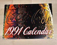BEL VECCHIO Coca-Cola calendario 1991 USA COKE CALENDARIO