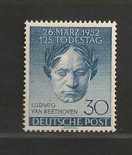 Germany Berlin #9N80 VF MNH - 1952 30pf Ludwig van Beethoven - SCV $42.50