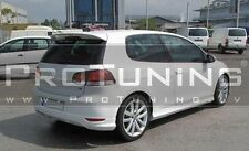 VW GOLF MK6 VI 08-12 REAR BUMPER LIP SPOILER R Line style Diffuser Hatchback GTI