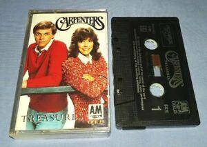 THE CARPENTERS TREASURES cassette tape album T8392