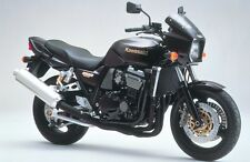 Kawasaki ZRX1100 Black oval twin outlet road-legal Motorbike Exhaust Can