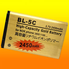 Nuevo BL-5C 2450mAh 3.7V Batería Recargable Cargador Plus