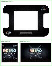 Retro Arcade cocktail game vinyl cover, 3 piece for RetroArcade.us cabinets Mame