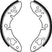 Ferodo FSB278 Brake Accessory Front Axle Shoes Replace 8606 SHU187