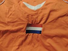 #10 Sneijder Holland Netherlands Soccer Jersey Adult Medium Sewn Flag & Numbers