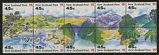 New Zealand   1992   Scott # 1116-11125   Mint Never Hinged Block Set