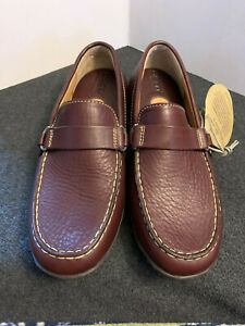 NEW - BORN Women's Slip On Brown Leather Loafers Size 8 Medium Width