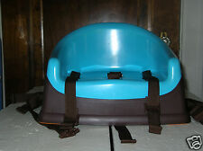 Prince Lionheart Booster Pod Child Seat~Berry Blue~Brown~Preowned~
