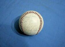 1970 Cleveland Indians team autographed baseball 34 signatures
