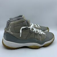 Rare Men's Nike Air Jordan 11 XI Retro 2010 Cool Grey White Size 9.5 378037-001