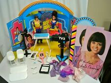 Vintage Mattel Donny & Marie Osmond Tv Show Playset & Dolls w Packaging