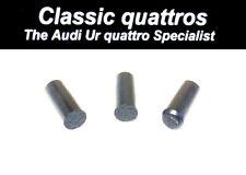 3 x FRONT SEAT TILT COVER DOWL PINS AUDI UR QUATTRO TURBO COUPE/ COUPE/80/90