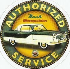NASH METROPOLITAN AUTOMOBILE Sticker Decal