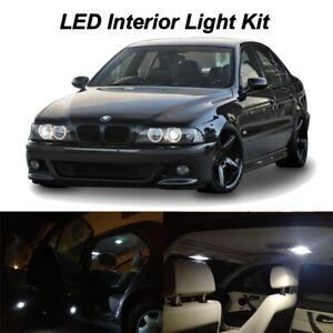 22 x White LED Interior Map Dome Lights Kit for 1996-2003 BMW E39 530i 540i M5