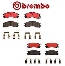 For Dodge Stealth Mitsubishi Eclipse Front Rear Ceramic Brake Pad Set Kit Brembo
